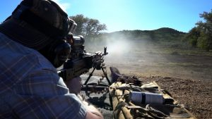 Machine Gun Shooting