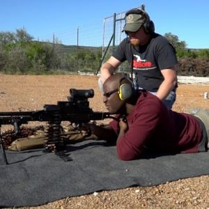 Machine Gun Shooting