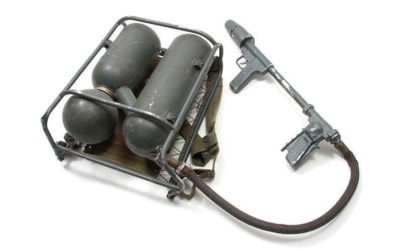 Vietnam Era Flame Thrower